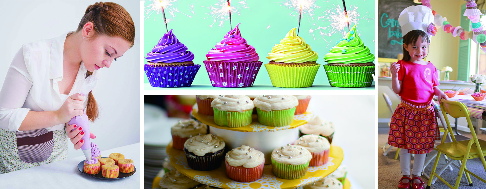 Home party decoration colorful cupcake liners