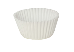 105 mm middle food paper cupcake cups ; 50*27 mm white cupcake cases